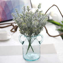 2Pcs/lot Grass Leaves Simulation Eucalyptus Flowers artificial fake floral Cafe Office Home Room Hotel Table Decor
