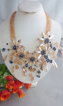 Custom Wedding Bridal Necklace Popular Wedding Necklace Best Design New Item WDT098(China)