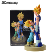 Dragon Ball Z Vegeta & Trunks Dramatic Showcase 4th season PVC Action Figure Collectible Model Toys 22cm Christmas Gift