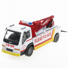 Collection Engineering Vehicles Alloy Car Series 1:50 Road Rescue Car Rescue Wrecker Model Toys Car For Boy Gifts(China)