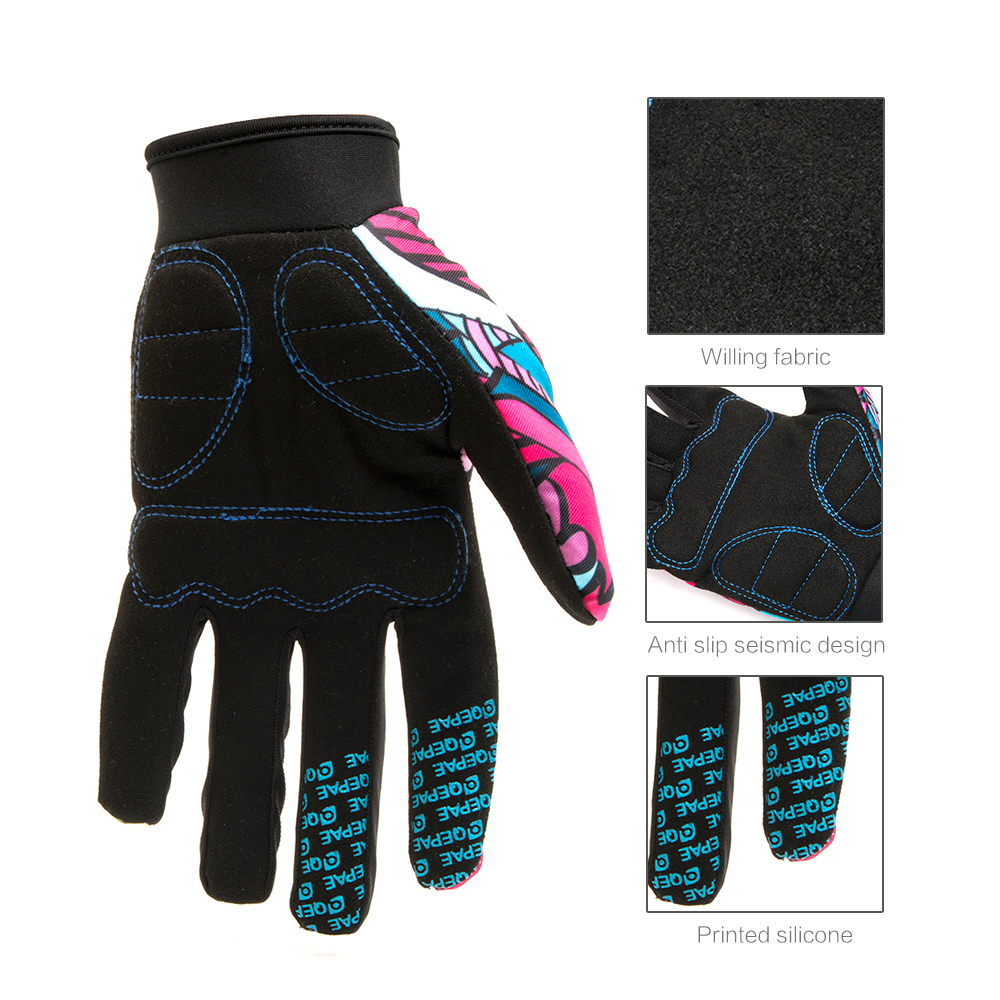 Qepae Full Finger Motorcycle Winter Gloves Screen Touch Guantes Moto Racing/Skiing/Climbing/Cycling/Riding Sport Motocross Glove 13
