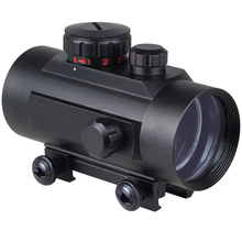 Tactical  Holographic Laser 1 x 40mm Illuminated Red/Green Dot Sight Rifle Red Dot Scope 20mm Weaver rail Air Soft Hunting
