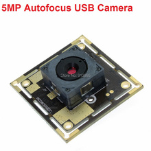 Free shipping 5pieces 5megapixel autofocus 60degree cmos OV5640 USB2.0 document capture, video conference camera(China)