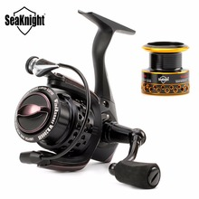 SeaKnight WR2000H/3000H Spinning Fishing Reel 6.2:1 High Speed Carbon Fiber Carp Saltwater Fishing Wheel Fish Gear+Spare Spool