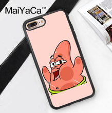 SpongeBob SquarePants Patrick TPU Case for iPhone 6 6S 6 Plus 6sPlus New Arrival For iPhone7 7Plus Cover Soft Rubber Phone Cases