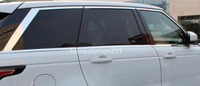Full Window Trims Without Center Pillar For Land Rover Range Rover Sport 2014-2016(China)