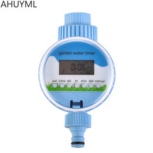 Rain Sensor Timer Electronic LCD Home Ball Valve Water Garden Irrigation Water Timer Controller System Intelligent Quantitative(China)