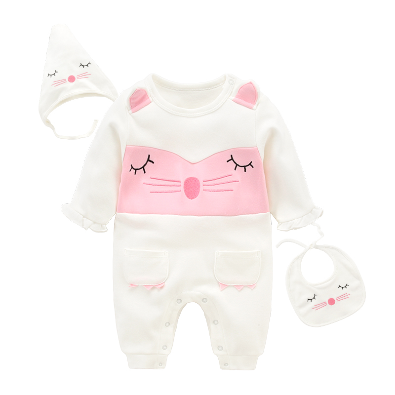 Baby romper spring and autumn infant long sleeved clothing newborn clothes<br><br>Aliexpress