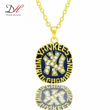 Daihe NC4651 New Sport Jewelry 1977 NY World Series Championship Pendants Necklace For Couple Gift Jewelry(China)