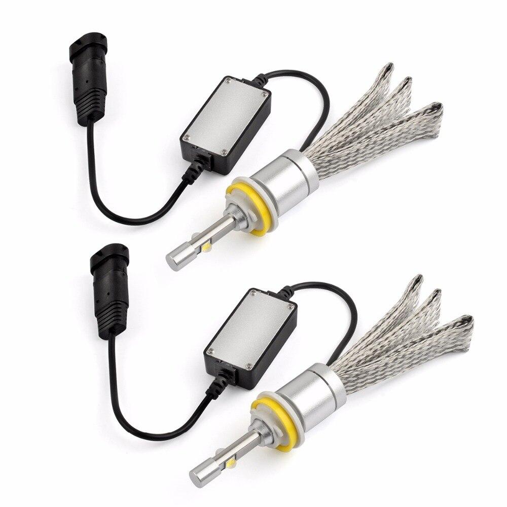 12-24v 80w 9600lm R3 H4 H11 H13 9005/HB3 9006/HB4 H7 Led Car Headlight Kits Dipped Beam &amp; High Beam  Auto LED Fog Lamps Bulbs <br><br>Aliexpress