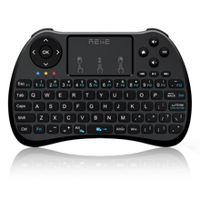 2017 New Hot H9S Mini Keyboard Rii i8 2.4Ghz Wireless Qwerty English Keyboard with Touchpad for PC Android/Smart TV Box Laptop
