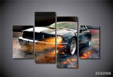 Hd Printed Ford Mustang Shelby Painting On Canvas Room Decoration Print Poster Picture Canvas Framed Free Shipping/Ny-1823
