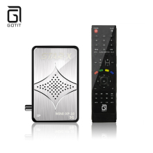 Gotit MINI XP10 DVB-S2 Satellite IPTV Receiver Sunplus1506A Multi-CAS PVR Cccam IPTV VOD Supported better than duosat receptor(China)