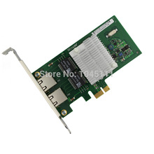 Winyao WYI350T PCIe X1 Desktop Dual Port Gigabit Ethernet Network Adapter Card NIC Intel I350 Chipset Soft Route 1000MPXEIPV6