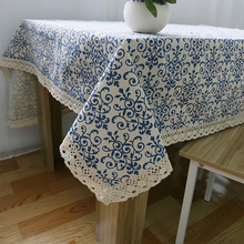 2016 New Linen TableCloth Traditional Chinese Print High Quality Tablecloth Table Cover manteles para mesa Free Shipping