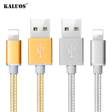 Buy KALUOS 1m 2m 3m Ultra Long Fast Charging USB Data Sync Charger Cable iPhone X 6 6S 7 8 Plus 5 5S 5C SE iPad 4 mini 2 3 Air 2 for $1.20 in AliExpress store