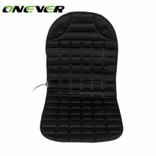 Onever 12V Car Heated Seat Cushion Cover Heating Pad Cover Hot Warmer for Cold Weather and Winter Driving