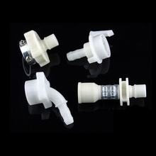 Plumbing Pipe Fittings Connector Clamp Plastic Tube Connector Quick Coupling Flexible Coolant Hose Barb Fitting Joints Bushings
