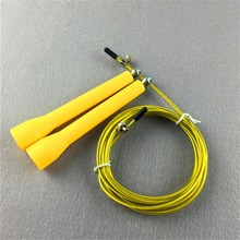 Ultra Speed Skipping Skip Adjustable Jump Rope Boxing Sport Cable