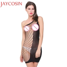 Buy New Style Sexy Lingerie Hot Transparent Costumes Underwear Sex Products Kimono Erotic Sleepwear Fish Net Baby Dolls Women T Ma31