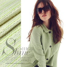 Striped knit dress suit natural linen fabrics linen fabric wholesale high quality linen cloth