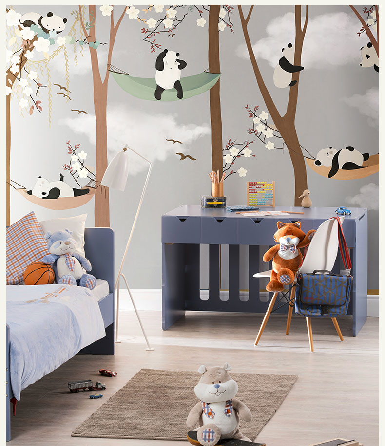 HTB1tQILbN1YBuNjy1zcq6zNcXXa3 - Bacaz Large Cute Panda Trees 3D Papel Murals Wallpaper for Baby Child Room 3d Wall Photo Mural Wall paper 3D Wall Murals