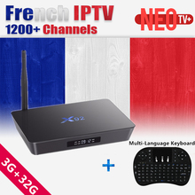 Buy X92 android tv box 32GB Rom Amlogic S912 Arabic French Belgium IPTV French Live+VOD 1 Year iptv subscription smart ip tv Box for $111.20 in AliExpress store
