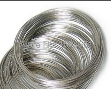 100Loops Memory Beading Wire for Bracelet 50-55mm *bead caps toggle clasp brooch findings connector charms