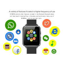 X7 Smart watch Fitness Clock Mp3 Camera FM Video SIM Smart Watch Android Wearable Devices for android phone(China)
