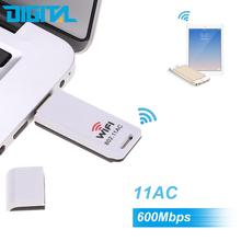 2.4G/5.8G 600Mbps 802.11 a/b/g/n USB Dual Band Network Card wireless modem for Internet Surfing and On-line Gaming MTK7610U