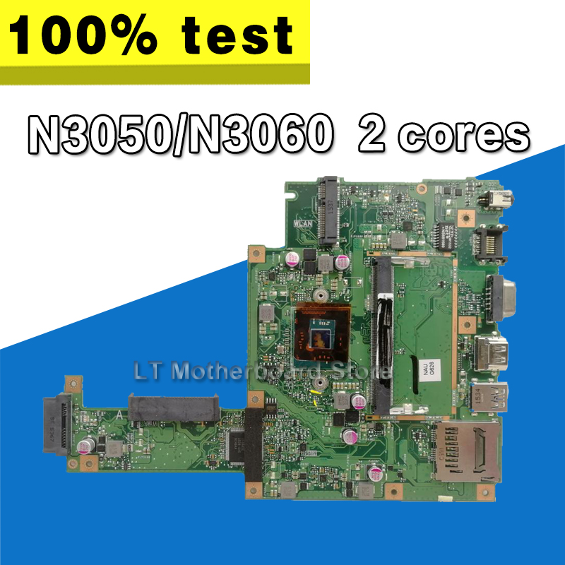 X453SA Laptop Motherboard For ASUS X453S X453SA X453 F453S Mainboard  test 100% OK N3050/N3060  2 cores