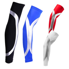 Quality High Elastic Men Sports Long Arm Sleeve Warmers Basketball Shooting Elbow Pads Protector Stretch Padded Support Guard Pa