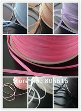 3MM 850Yard Polyester Taffeta Solid Color Ribbon Band Woven Riband Cord Hair Jewerly Findings