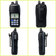 2pcs Hot RS-36M Walkie Talkie 80 CH VHF Handheld Two Way Radio with Large LCD Display Float and Flash Waterproof IP-X7