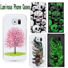 For LG X power K220DS K220 LS755 US610 Case Silicone 3D Luminous Phone Cases animal printing Back Cover capa para case