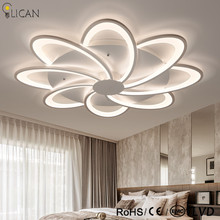 LICAN lustre de plafond moderne Ceiling Lights LED Living bed room decoretive lights fixtures luminaire plafonnier Ceiling Lamp(China)