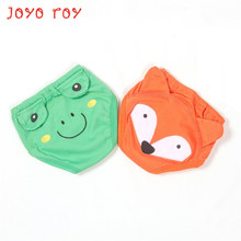 Joyo roy 2 Pieces/Lot Baby Learning Pants Six Layers Children's Exercise Pants Baby Cartoon Urine Training Panties(China)