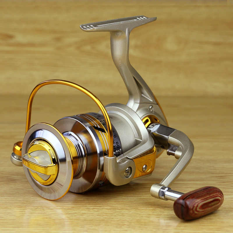 EF 12BB metal rocker reel High Speed 5.5:1 fishing line wheel spinning wheel