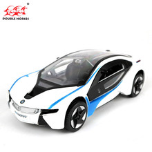Hot High Simulation 1:32 i8 alloy pull back model cars Two door sports car Model Toy Collection Boy birthday Gift For Kids New(China)