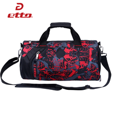 Etto 50*26*26CM 33L Large Waterproof Sport Bag Training Gym Bag Men Women Durable Fitness Bag Soccer Outdoor Tote Callant HAB211(China)