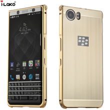 Shockproof 2 in 1 Detachable Brushed Aluminum Metal Frame Hybrid Hard Back Case For BlackBerry KEYone Mercury DTEK70(China)