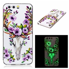 Nephy Luxury Case For Huawei P8 Lite P9 Lite P 10 P10 Lite P8Lite 2017 Honor 8 Lite Noctilucent Cover Silicon TPU Casing Housing(China)