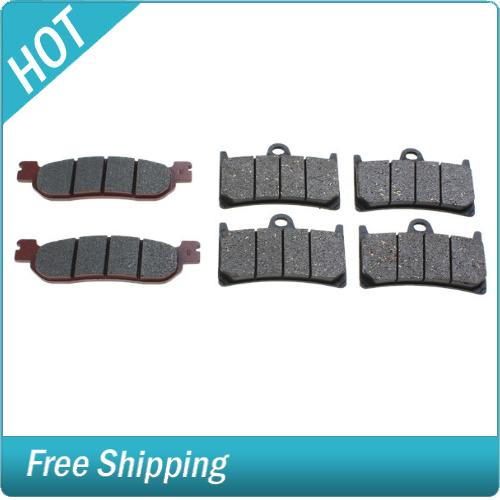 Pair of Motorcycle Front Rear Brake Pads for Yamaha YZF 600 1000 R1 R6<br><br>Aliexpress