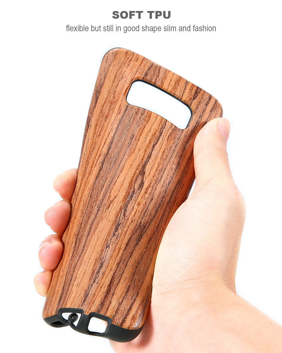 wood pattern soft tpu case for samsung s8 s8 plus (10)