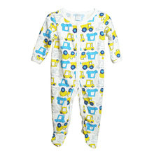 New Arrival Unisex Baby Clothes Baby Boy Girls Footed Romper Baby Rompers 100% Cotton Sleep & Play Clothes Baby Pajamas Newborn(China)