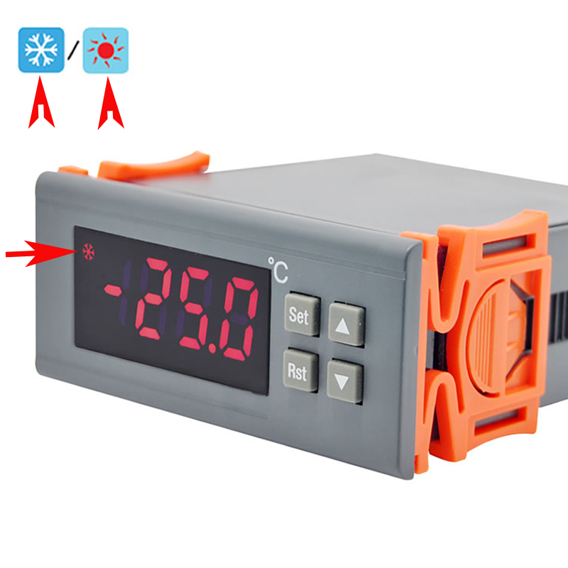 110M Household Animal Farm Aquarium Relay Switch Universal Digital Temperature Controller Purpost Gauge Regulator Thermostat