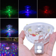 New Arrival Stage Party Disco Holiday LED Light IP67 Waterproof for Spa Bathtub Pond Swimming Pool Jacuzzi Decoration Colorful