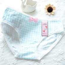 Buy New Women Girls Underpants Shorts Soft Cotton Briefs Underwear Panties Knickers Bow Thongs