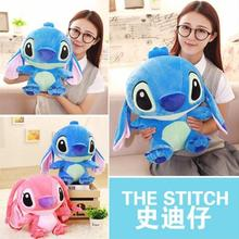 40cm Lop Ear Cute Cartoon Frozen Lilo and Stitch Plush Toy Doll Stuffed Toys Dolls Hnaging Ear Stitch Baby Toy Gift For Children