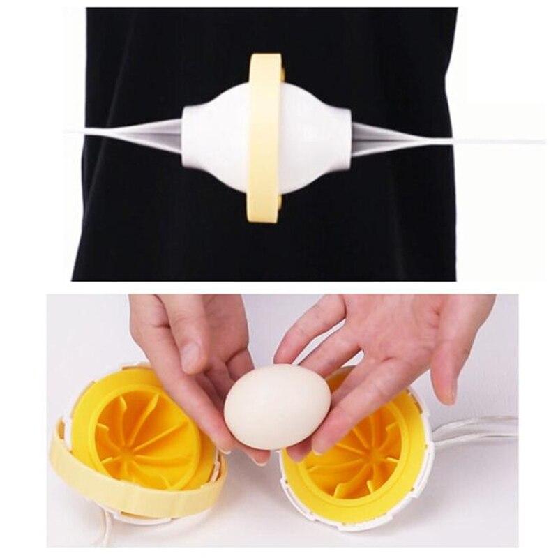 JX-LCLYL Golden Egg Maker Egg Shaker Scrambler Egg Yolk White Mixer Hand Kitchen Tool